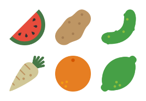 Symbolicons Fruits & Vegetables