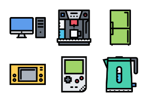 The Electronics & Appliances - Colored