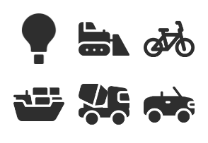 Transportation Set from Iconspace