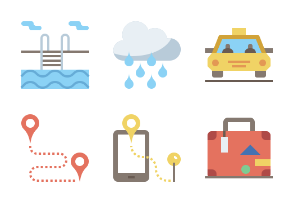 Travel And Vacation Flaticons