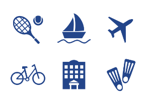 Travel & Activity icons