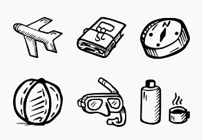 Travel - Hand Drawn Icons