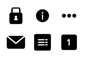 User Interface Glyph