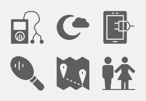Vacation and Travel Glyphs vol 2