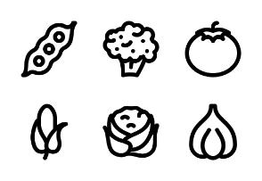 Vegetable (Line)