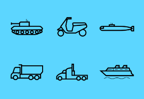 Vehicles - Outline