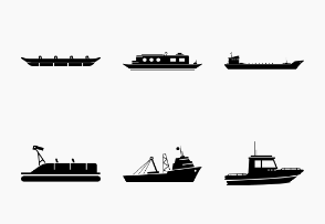 Water Transportation Ship and Boat Type