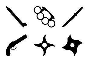 Weapons Solid Icons Vol 3