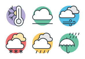 Weather Cool Vector 2