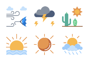 Weather Flaticons