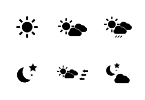 Weather, Forecast Custom Shape