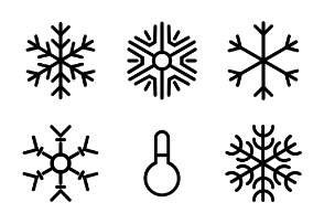 Weather Line Icons Vol 2