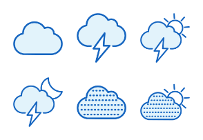 Weather - Monochrome Icons