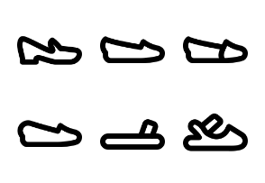 Woman Footwear MD - Outline