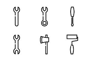Work tool line