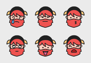 Zeshio's Dwarf Emoticons