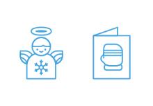 Line Christmas Icons