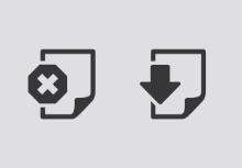 Web Document icons